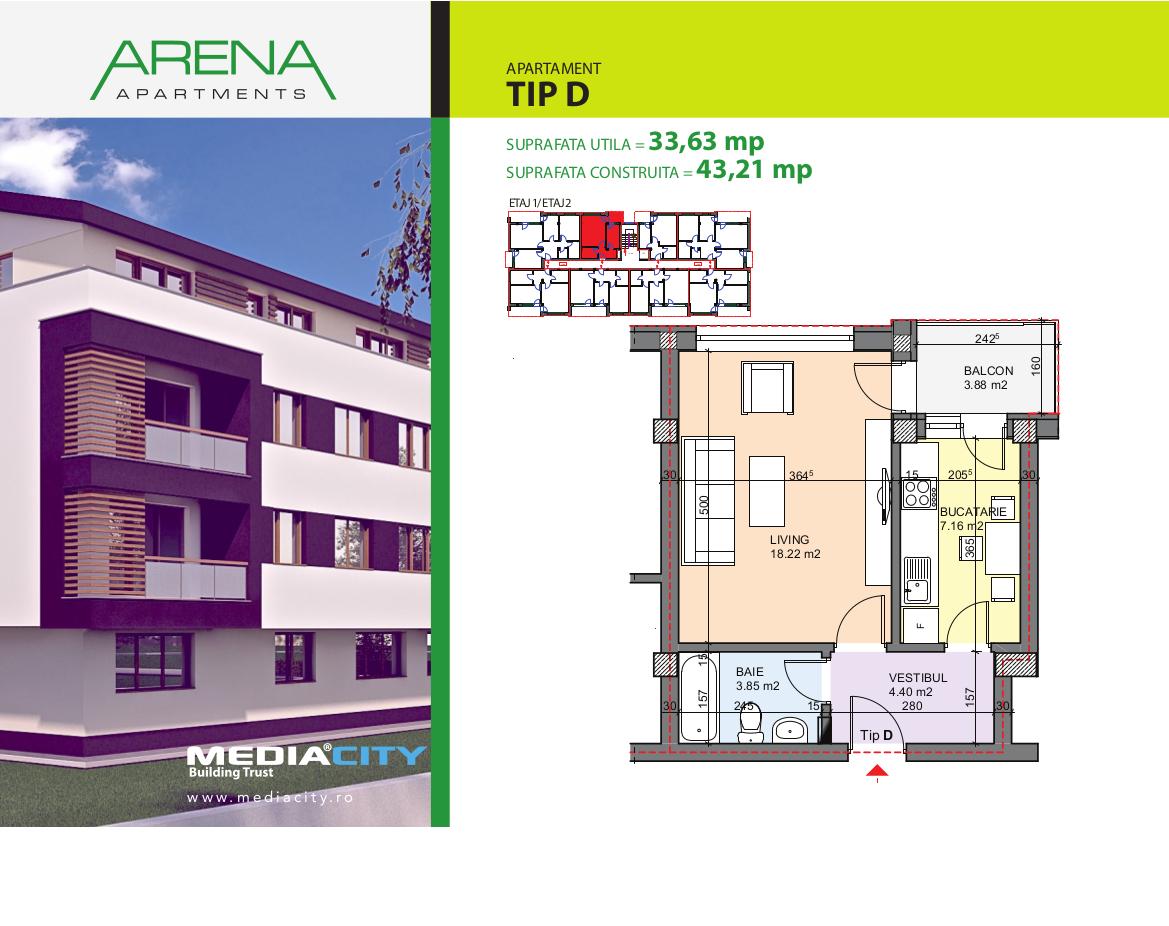 Apartament Tip D