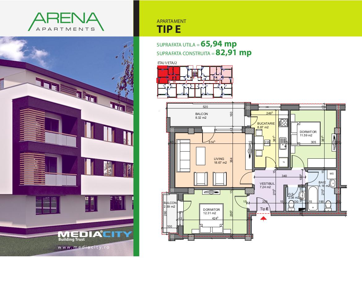 Apartament Tip E