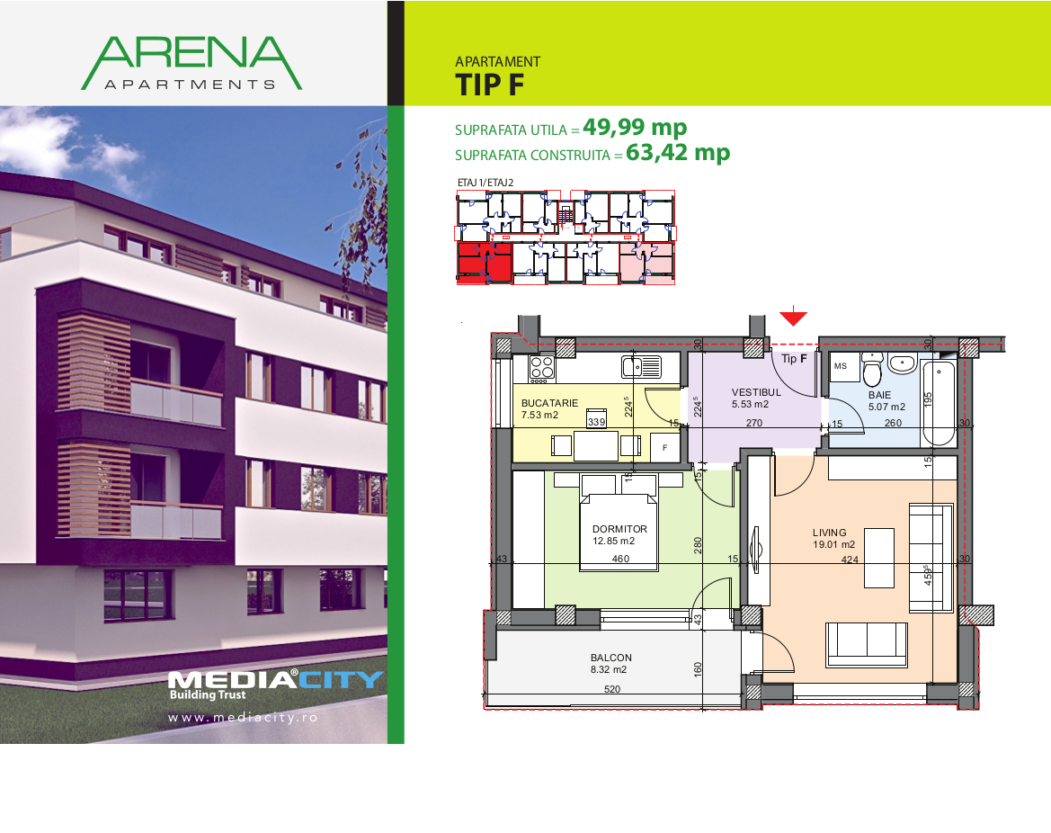 Apartament Tip F