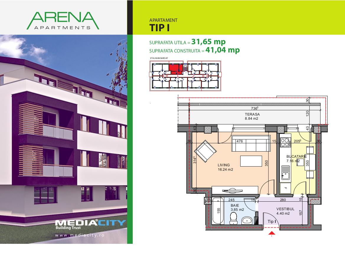 Apartament Tip I