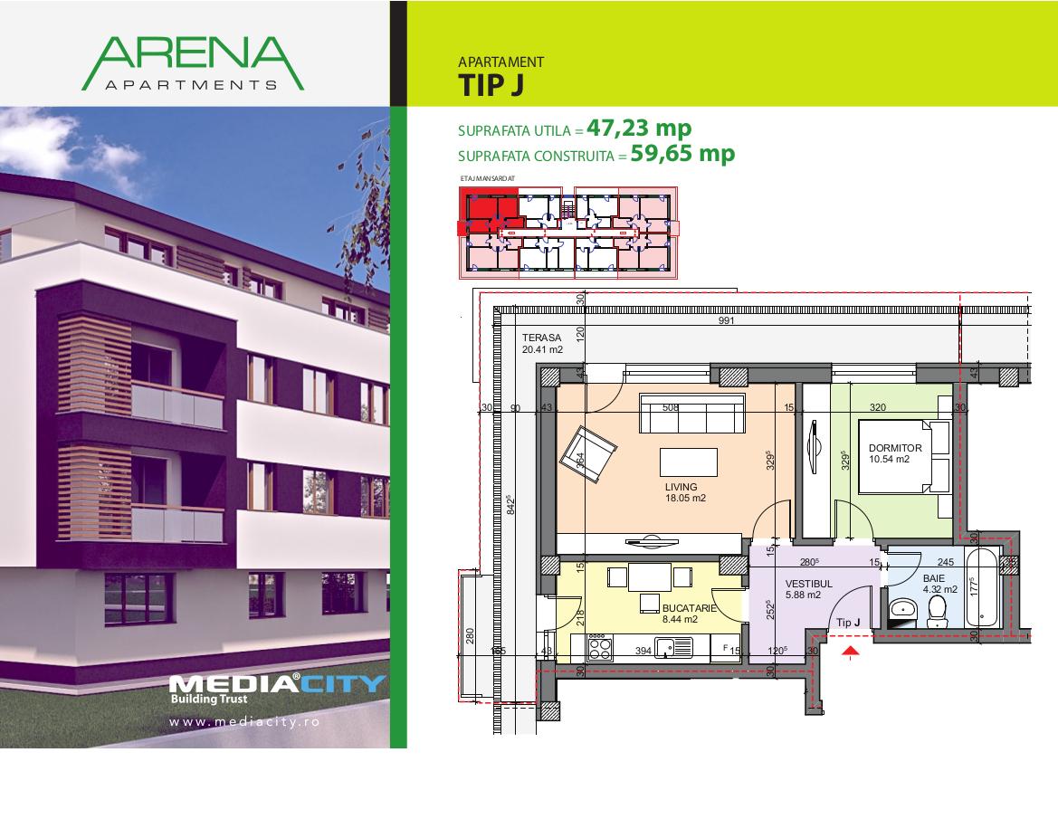Apartament Tip J