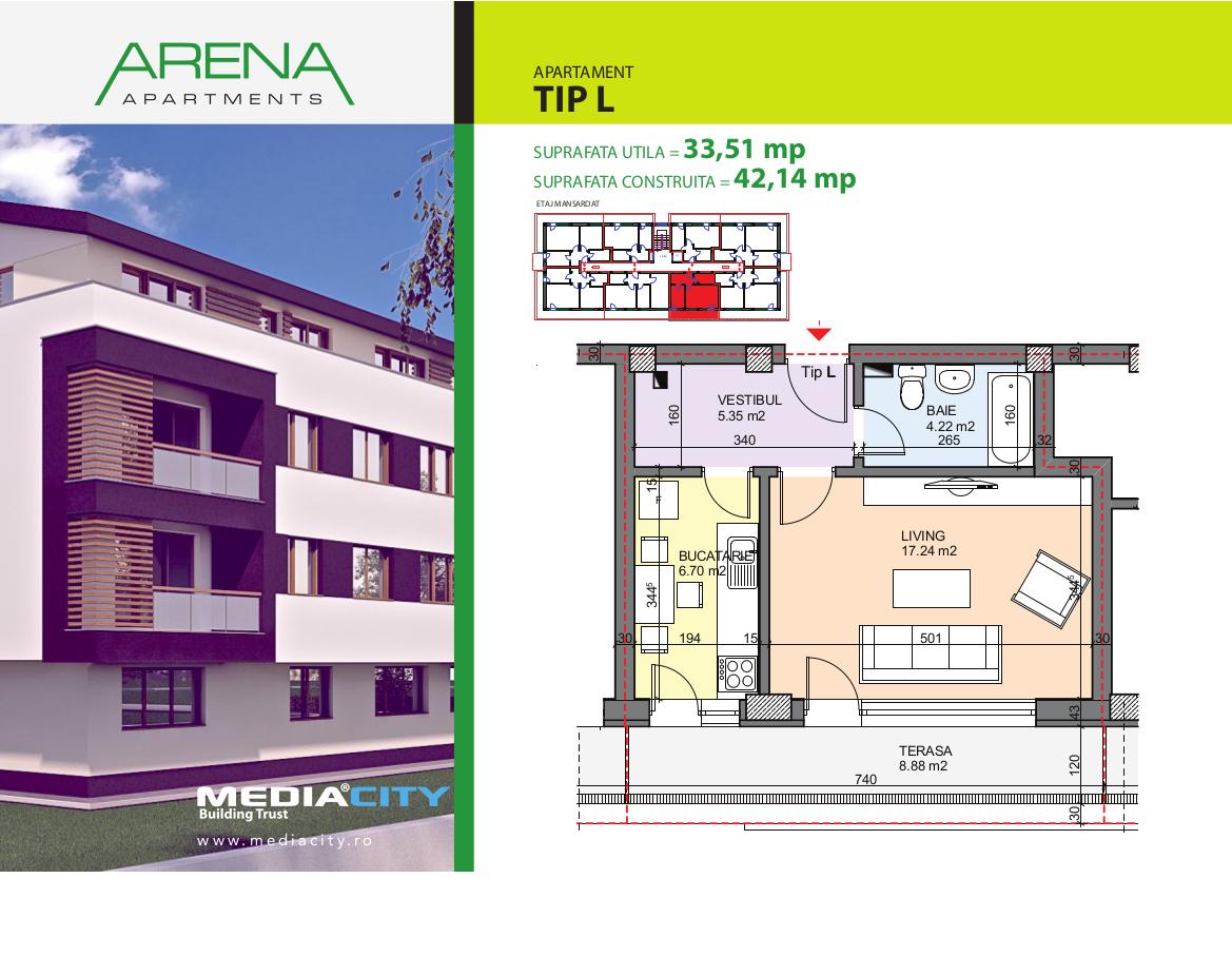 Apartament Tip L