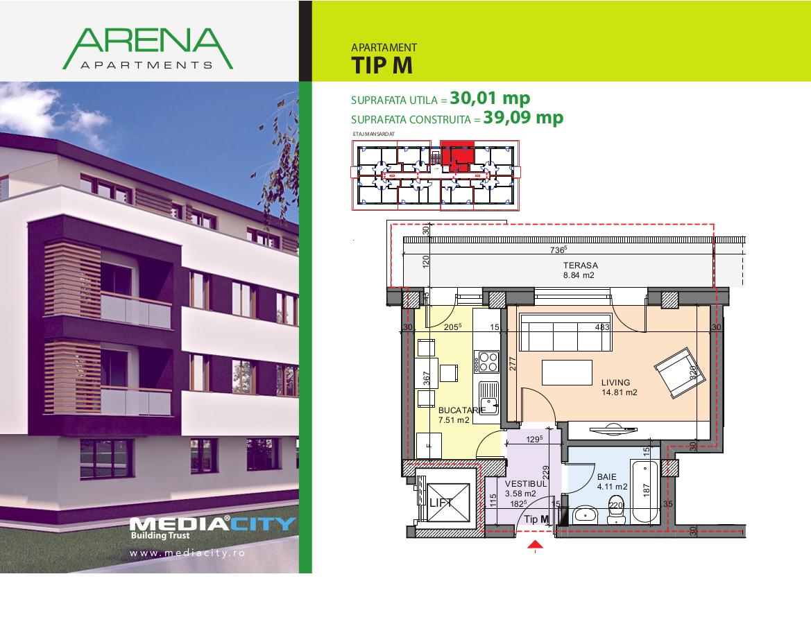 Apartament Tip M